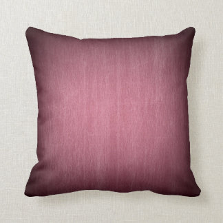 Burgundy Fade Distressed Maroon Throw Pillow