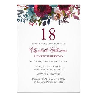 18th birthday invites
