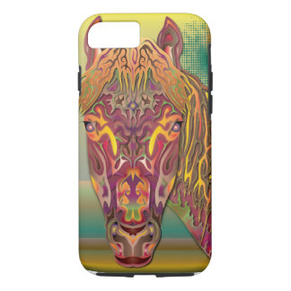 Burgundy Horse iPhone 8/7 Case