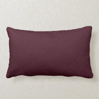 Burgundy Marbled Print Lumbar  Pillow