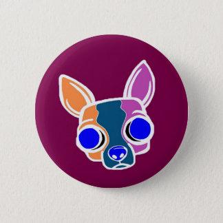 Burgundy Monk Puppy Button