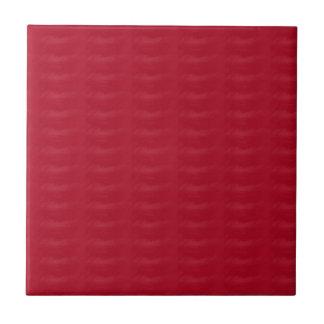 Burgundy Textured Print Ceramic Tile