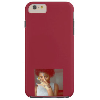Burgundy West Side & Henna Hand Girl iPhone 6 plus Tough iPhone 6 Plus Case