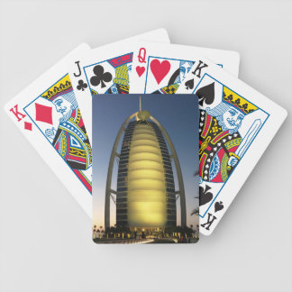 Burj Al Arab Bicycle Playing Cards