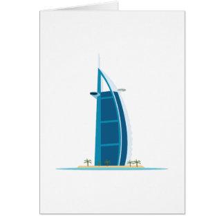 Burj Al Arab Dubai Card