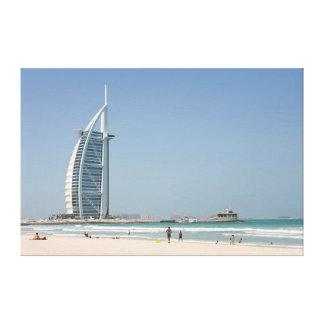 Burj Al Arab From Sunset Beach, Dubai Canvas Prints