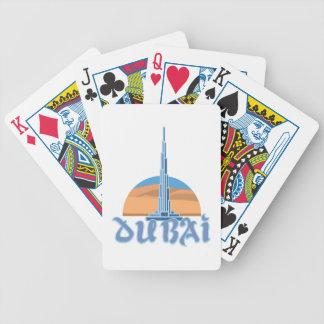Burj Khalifa Dubai Bicycle Playing Cards