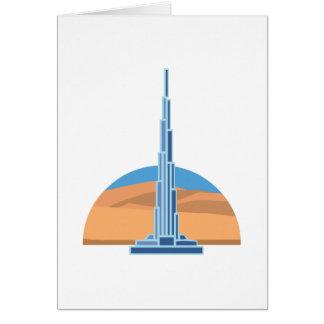 Burj Khalifa Dubai Card