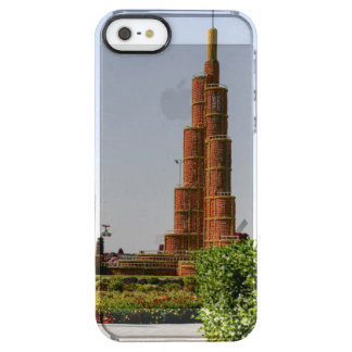 Burj Khalifa,Dubai Miracle Garden Clear iPhone SE/5/5s Case