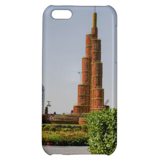 Burj Khalifa,Dubai Miracle Garden Cover For iPhone 5C