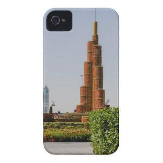 Burj Khalifa,Dubai Miracle Garden iPhone 4 Case