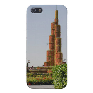 Burj Khalifa,Dubai Miracle Garden iPhone 5/5S Cover