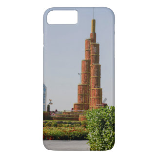 Burj Khalifa,Dubai Miracle Garden iPhone 7 Plus Case
