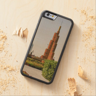Burj Khalifa,Dubai Miracle Garden Maple iPhone 6 Bumper Case