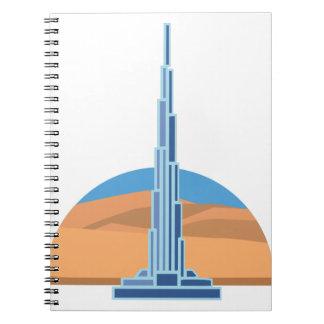 Burj Khalifa Dubai Notebook