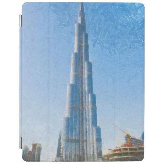 Burj Khalifa, Dubai painting iPad Cover