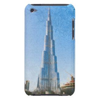 Burj Khalifa, Dubai painting iPod Case-Mate Case