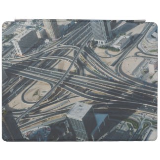 Burj Khalifa road view,Dubai iPad Cover