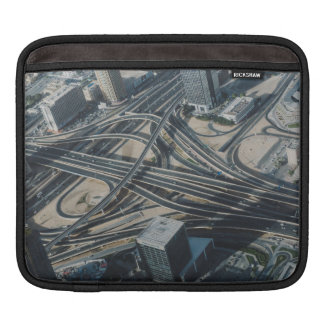 Burj Khalifa road view,Dubai iPad Sleeve