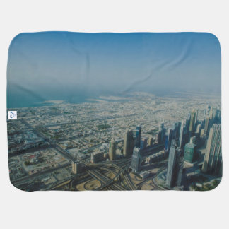 Burj Khalifa view, Dubai Baby Blanket