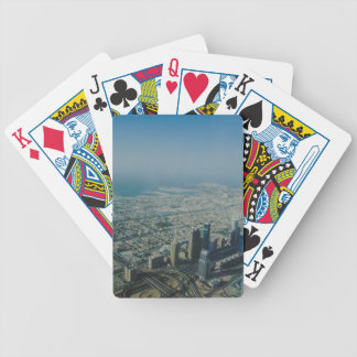 Burj Khalifa view, Dubai Bicycle Playing Cards