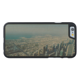 Burj Khalifa view, Dubai Carved Maple iPhone 6 Case