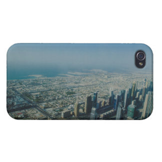 Burj Khalifa view, Dubai Cover For iPhone 4