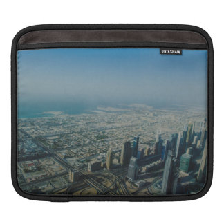 Burj Khalifa view, Dubai iPad Sleeve