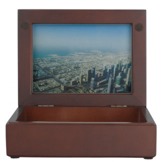 Burj Khalifa view, Dubai Keepsake Box