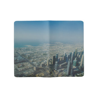 Burj Khalifa view, Dubai Large Moleskine Notebook
