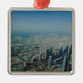 Burj Khalifa view, Dubai Metal Ornament