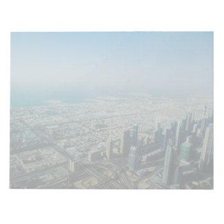 Burj Khalifa view, Dubai Notepad