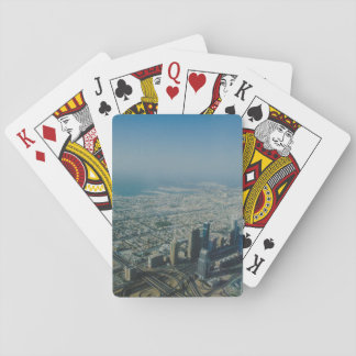 Burj Khalifa view, Dubai Playing Cards