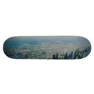 Burj Khalifa view, Dubai Skate Board
