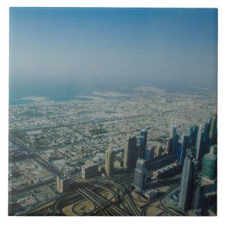 Burj Khalifa view, Dubai Tile