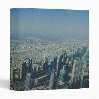 Burj Khalifa view, Dubai Vinyl Binder