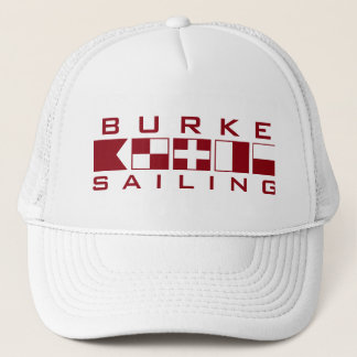 Burke Sailing Nautical Flags Trucker Hat
