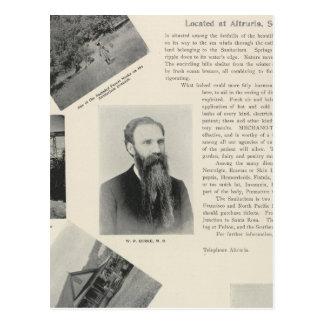 Burke's Sanitarium, California Postcard