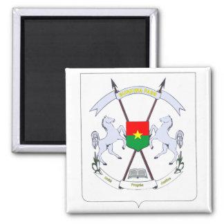 burkina emblem magnet