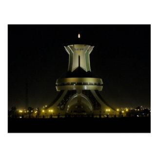 Burkina Faso Faso - Ouagadougou - Monument At Postcard