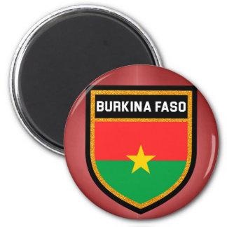 Burkina Faso Flag 2 Inch Round Magnet