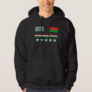 Burkina Faso Flag Hoodie