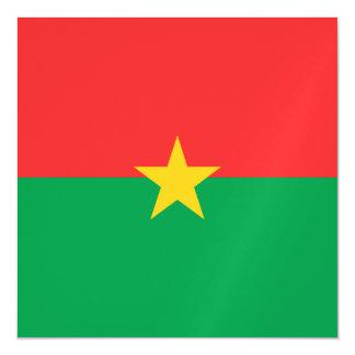 Burkina Faso Flag Magnetic Card