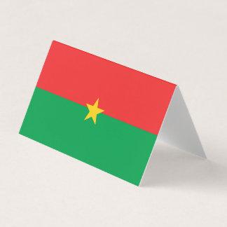 Burkina Faso Flag Place Card