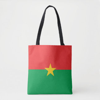Burkina Faso Flag Tote Bag