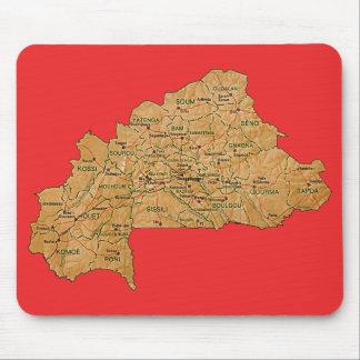 Burkina Faso Map Mousepad