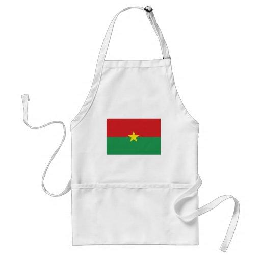 Burkina Faso National Flag Apron