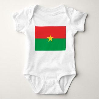 Burkina Faso National World Flag Baby Bodysuit