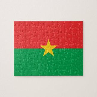 Burkina Faso National World Flag Puzzles