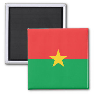 Burkina Faso National World Flag Square Magnet